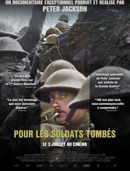 POUR LES SOLDATS TOMBES de Peter Jackson