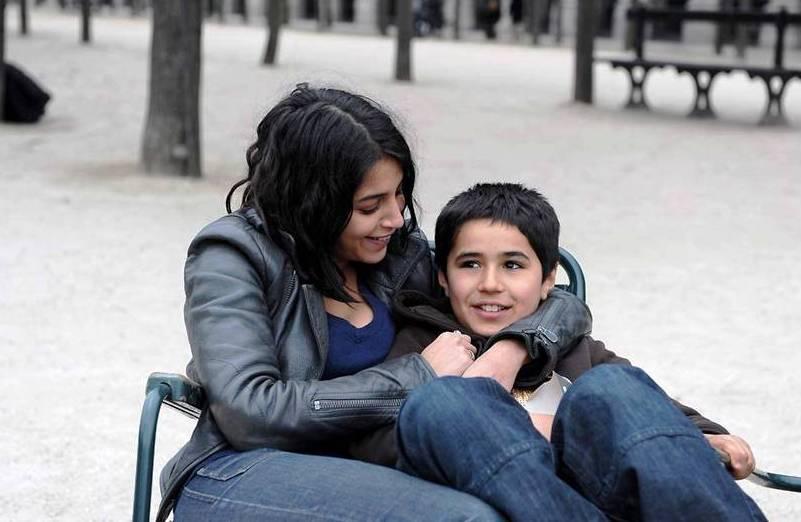 Leïla Bekhti et Slimane Khettabi