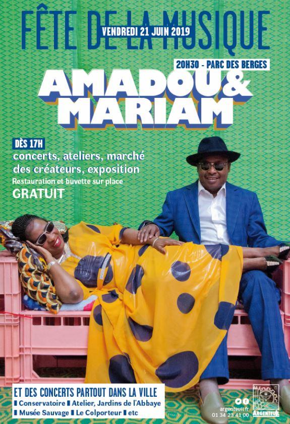 AMADOU et MARIAM à Argenteuil 2019