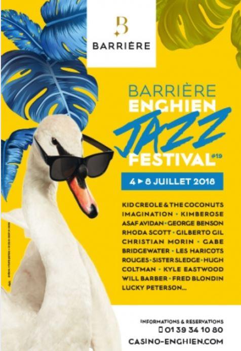 Barrière Enghien Jazz Festival 2018