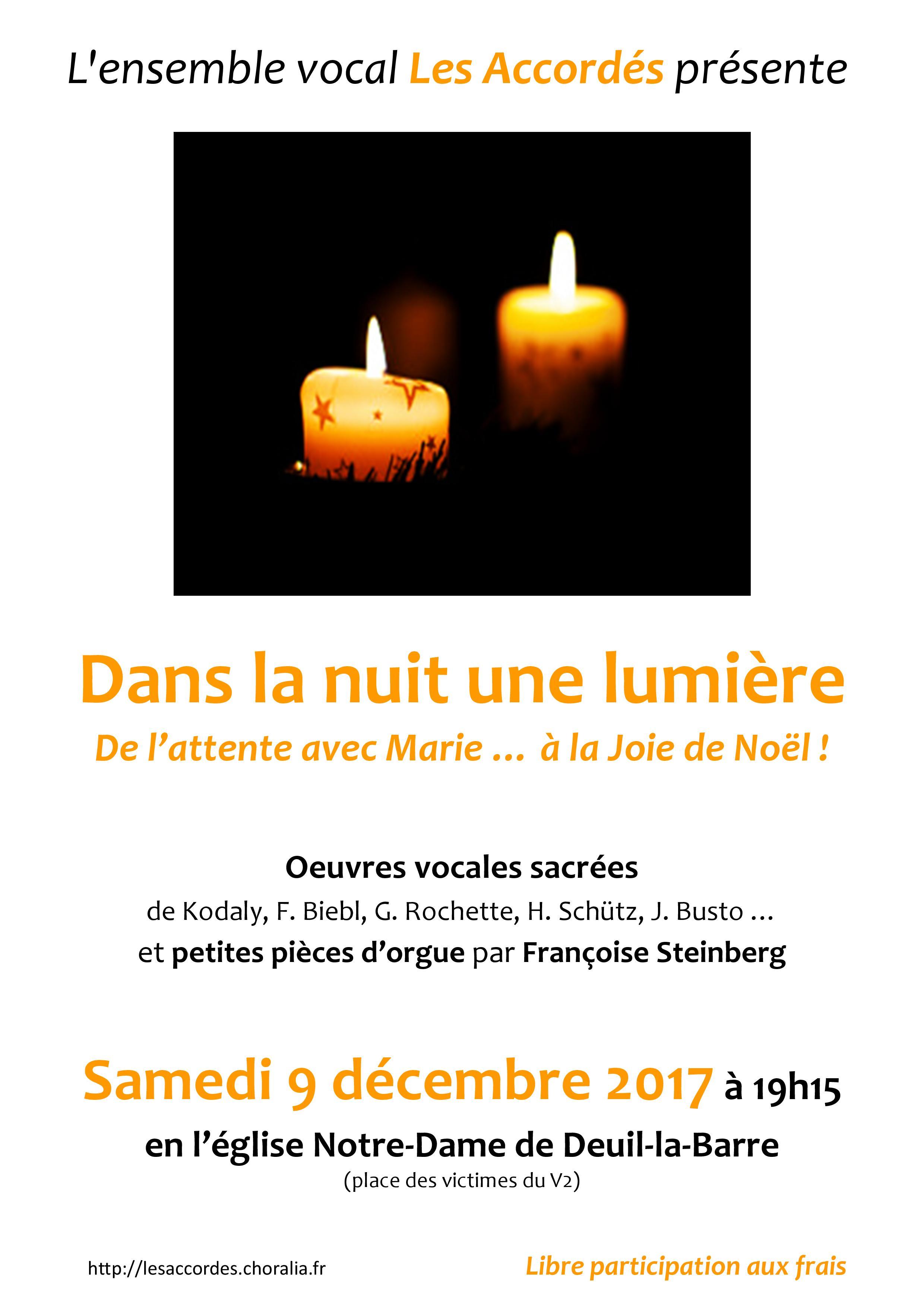 Concert de l'Avent - Deuil-la-Barre