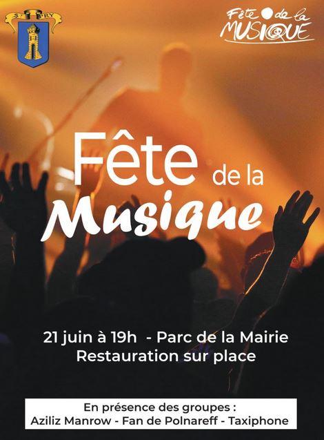 Fête de la musique 2019 - Saint-Prix
