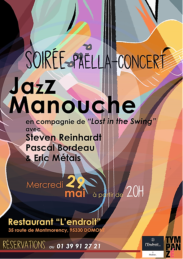 Soirée Paëlla-Concert Jazz Manouche avec le groupe