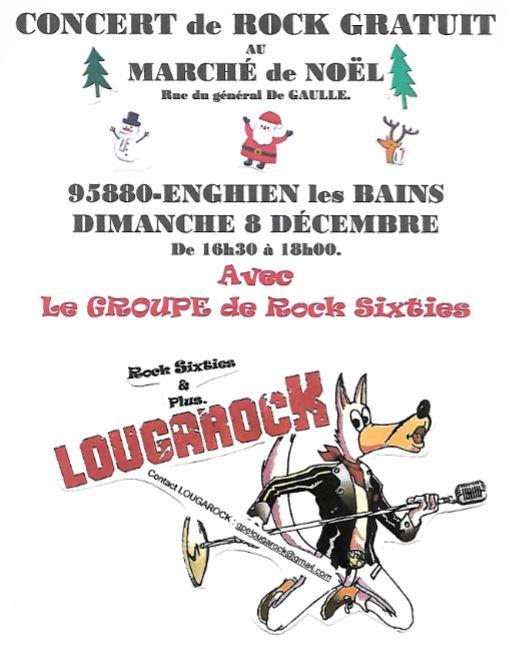 Concert de Lougarock à Enghien