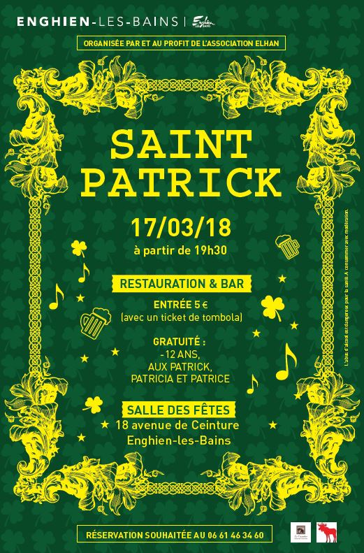 Saint-Patrick à Enghien
