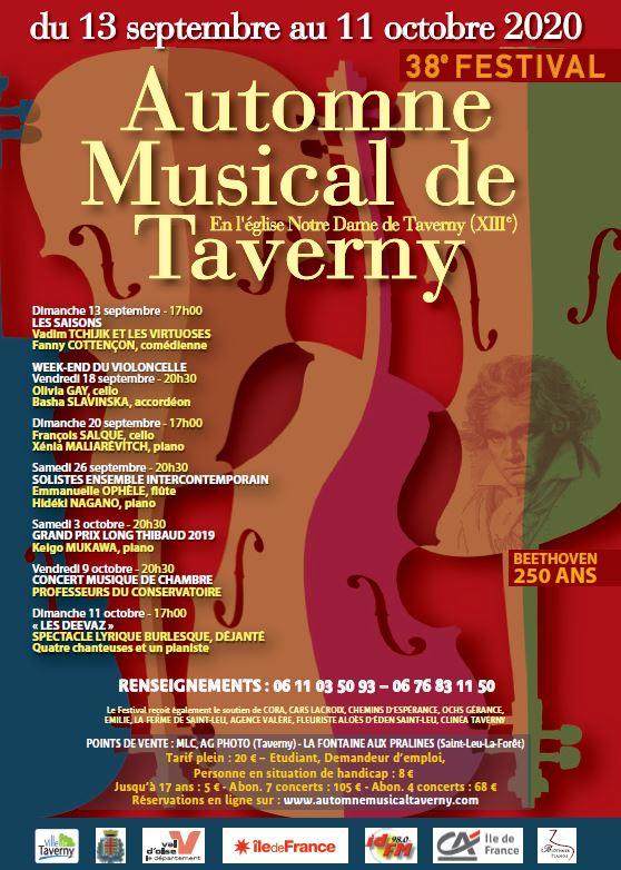 Automne musical de Taverny 2020