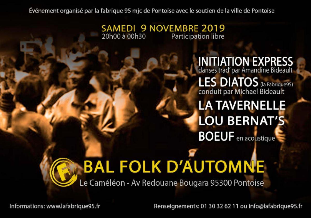Bal folk d'automne à Pontoise