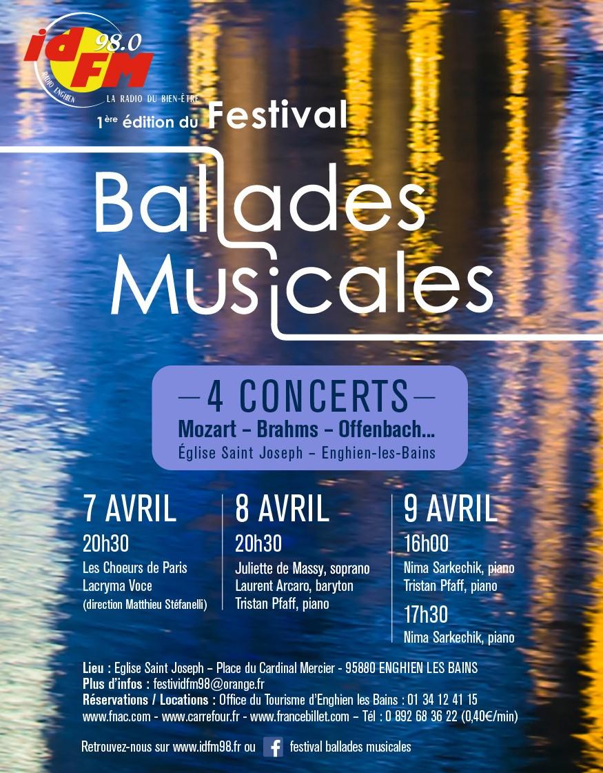 Radio Salle De Bain Fnac ~ festival ballades musicales le programme enghien les 7 8 et 9