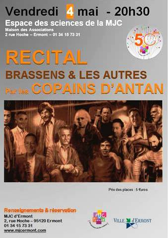 recital brassens et les autres 4 mai 2012