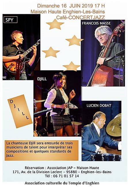 Café Concert Jazz avec Djill