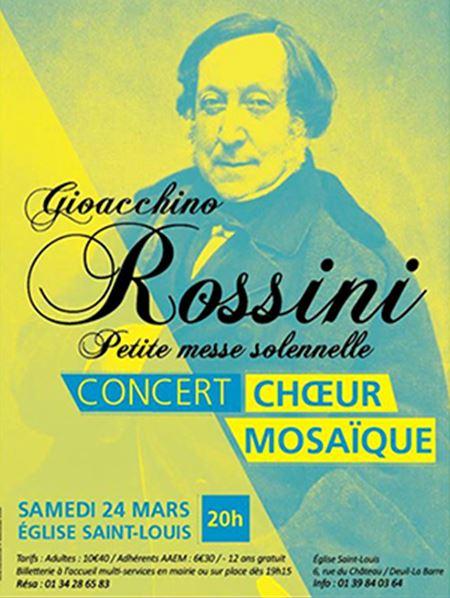 Concert du Choeur Mosaïque