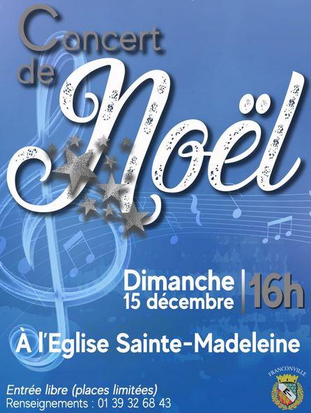 Concert de Noël à Franconville