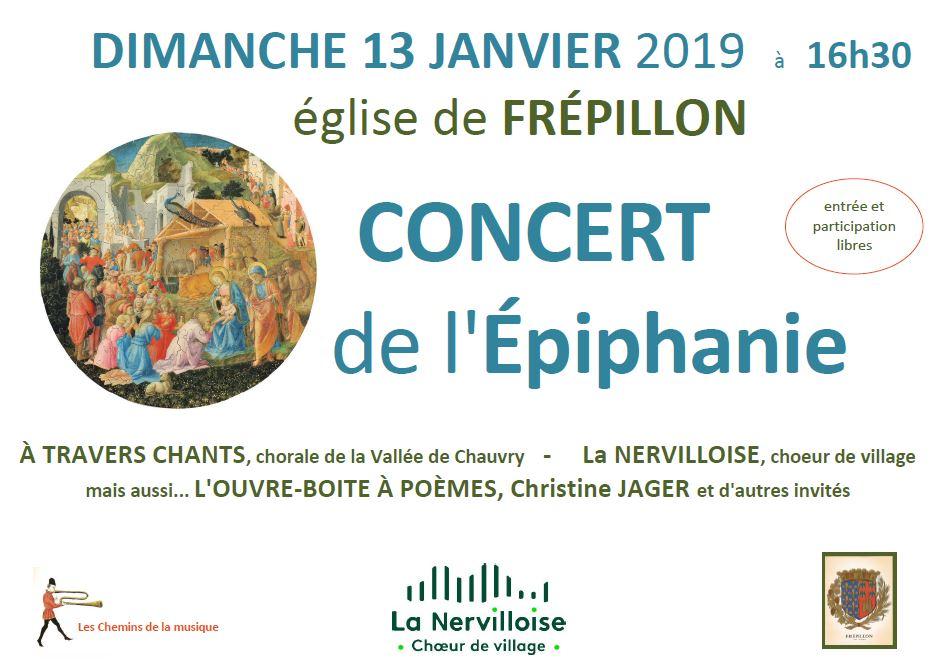 Concert de l'Epiphanie - Frépillon