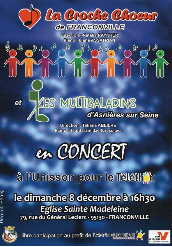 Concert du 8 décembre 2019