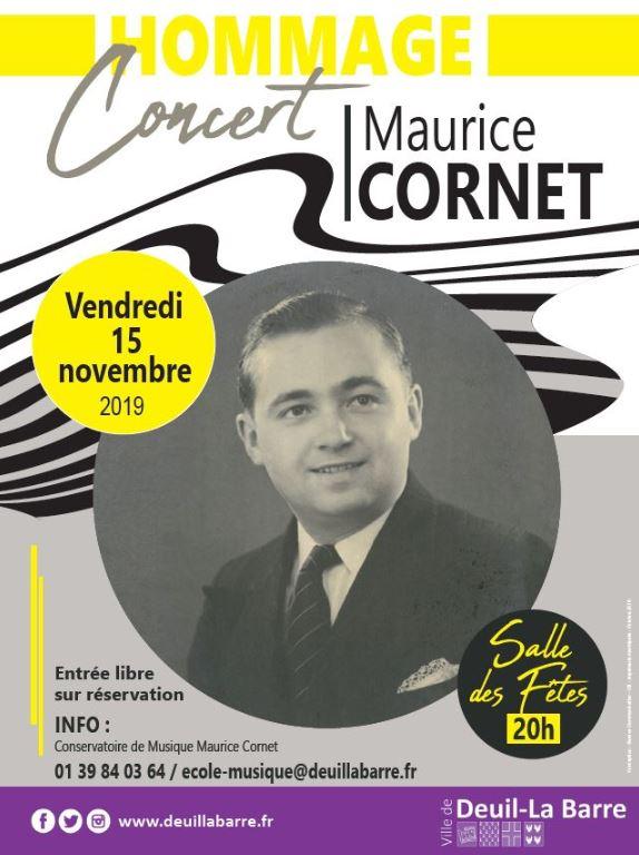 Concert hommage à Maurice Cornet