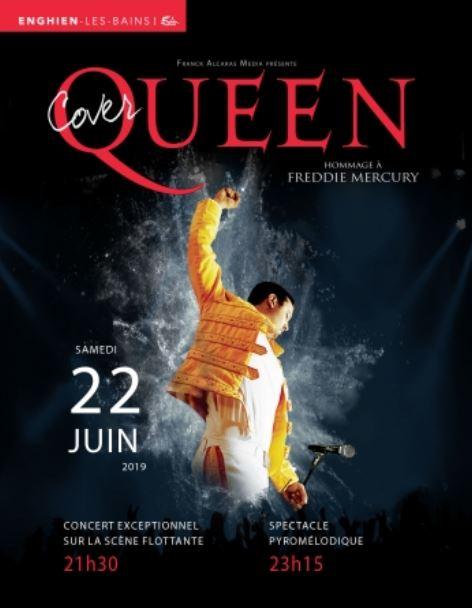 Coverqueen à Enghien le 22 juin 2019 à Enghien