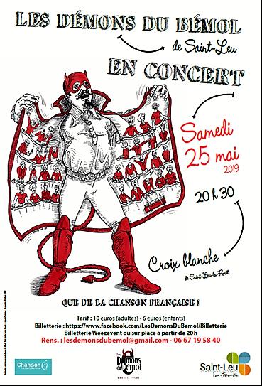 Concert LES DEMONS DU BEMOL 25 mai 2019