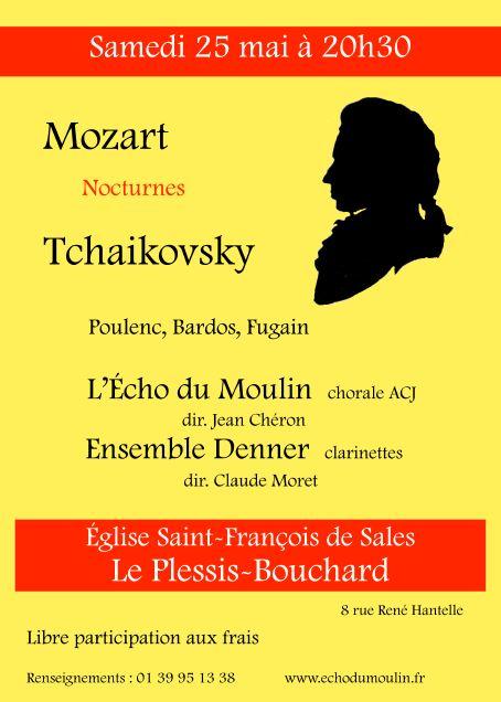 Concert de l'Echo du Moulin et de l'Ensemble Denner
