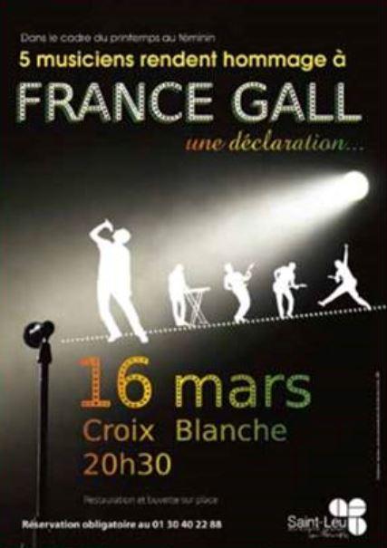 concert hommage à France Gall - 16 mars 2018