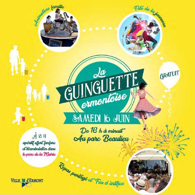 Guinguette ermontoise - 16 juin 2018