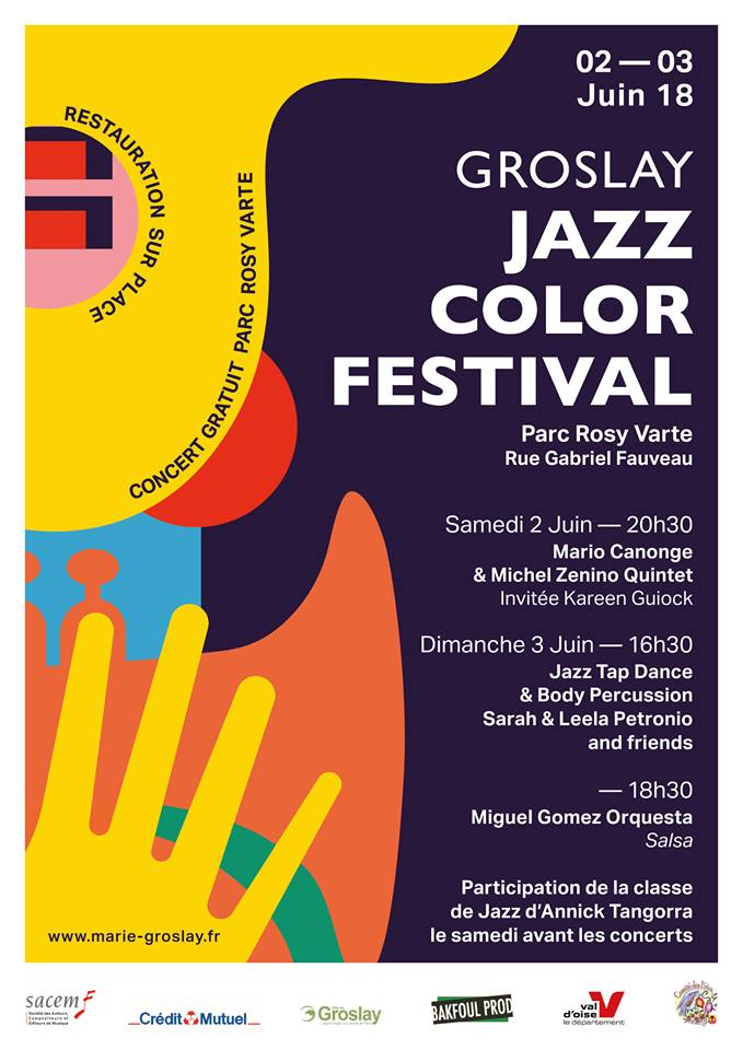 JAZZ COLOR FESTIVAL GROSLAY 2018