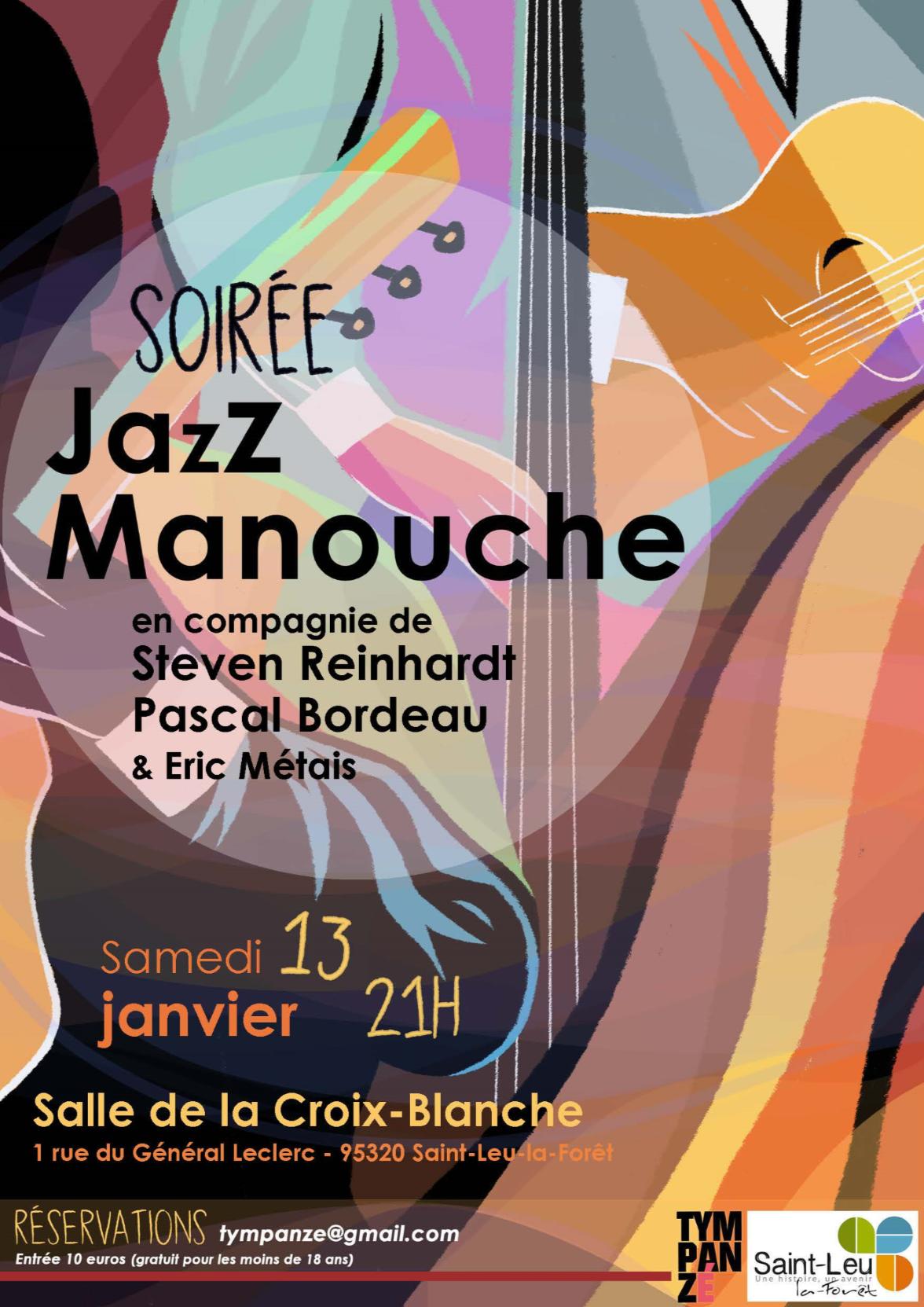 Soirée jazz manouche - 13 janvier 2018