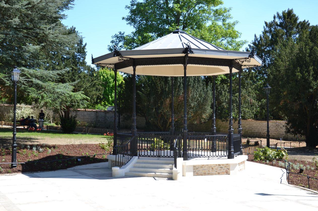 Kiosque du parc Henry-Leyma