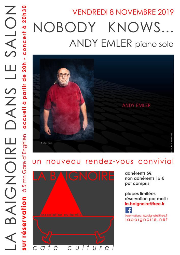 Café culturel La Baignoire - 8 novembre 2019