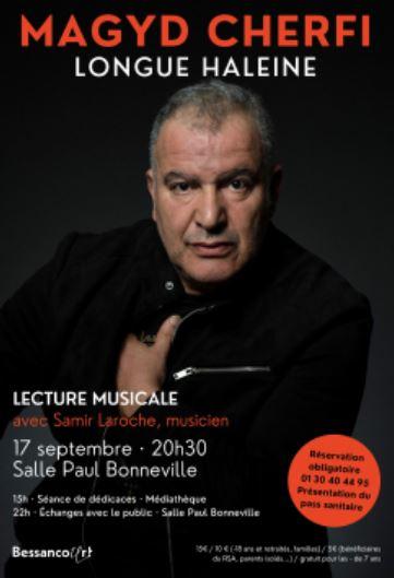 Lecture musicale avec Magyd Cherfi