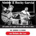 Concert Jazz Manouche avec Ninine et Rocky Garcia