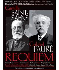 Deux concerts-événements à Taverny et Saint-Gratien pour redécouvrir les Requiem de Fauré et Saint Saëns