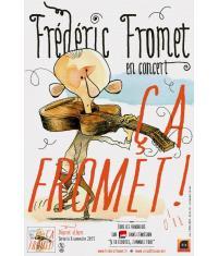 Tête d'affiche : Frédéric Fromet et ses chansons revisitées sur scène à Ermont. Décapant!