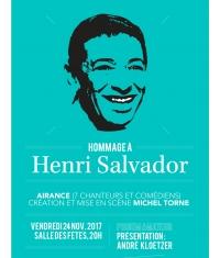Hommage à Henri Salvador à Enghien-les-Bains!