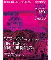 Concerts gratuits et feu d'artifice sur le lac d'Enghien !