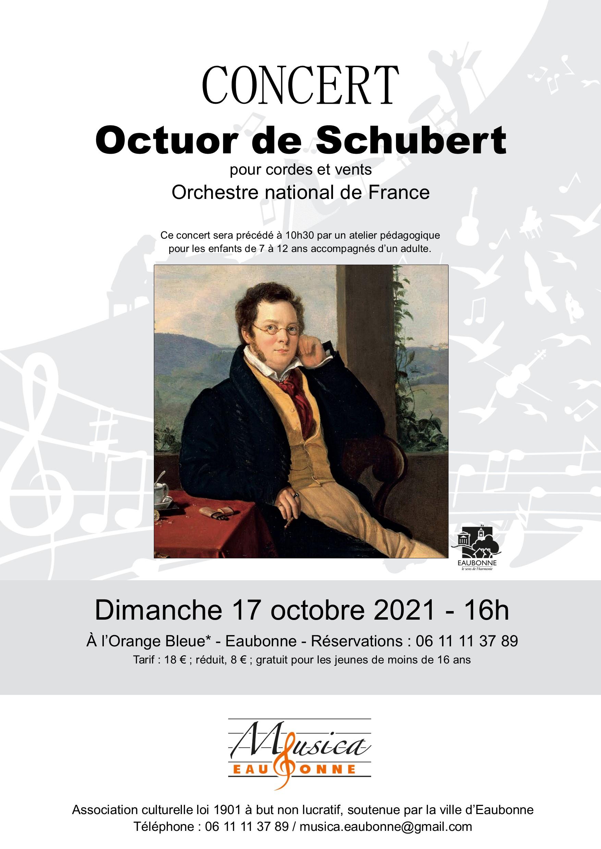 Musica eaubonne : Octuor de Schubert