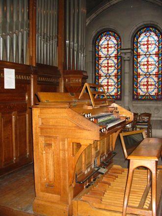 Orgue de l'église d'Enghien-les-Bains