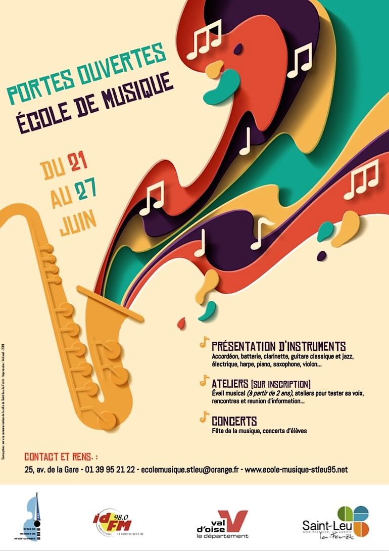 Portes ouvertes de l'ecole de Musique de Saint-Leu