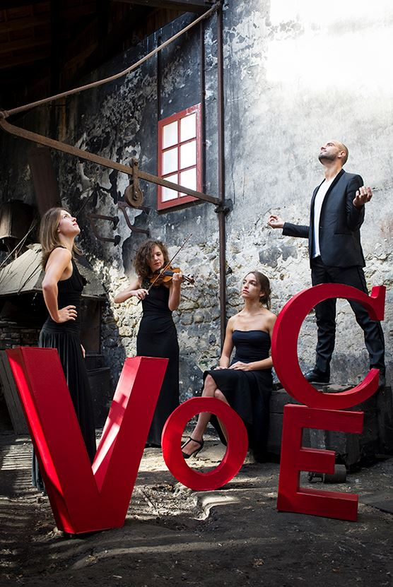 Quatuor Voce (© Sophie Pawlak)