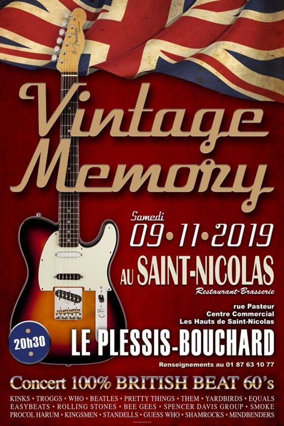 VINTAGE MEMORY au Plessis-Bouchard