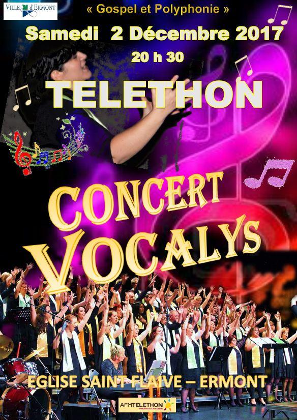 Vocalys à Ermont