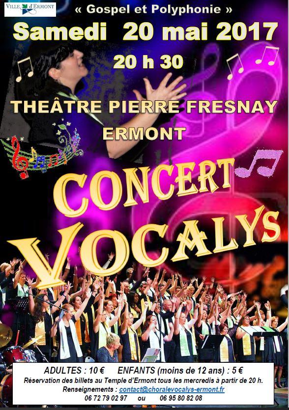 Concert de Vocalys - mai 2017