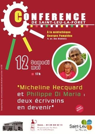conférence micheline hecqaurd philippe di maria