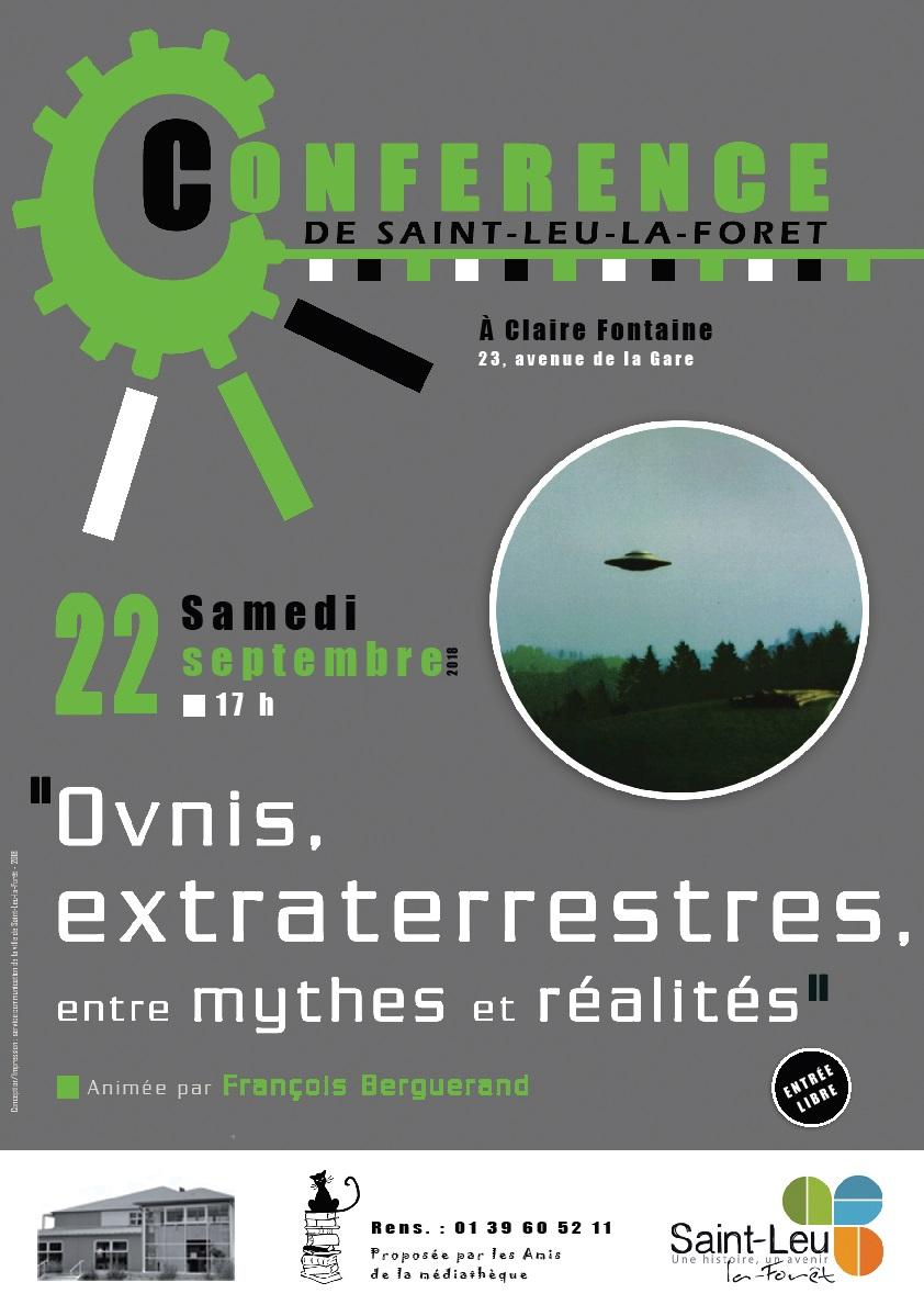 CONFERENCE Ovnis, Extraterrestres entre mythes et réalités