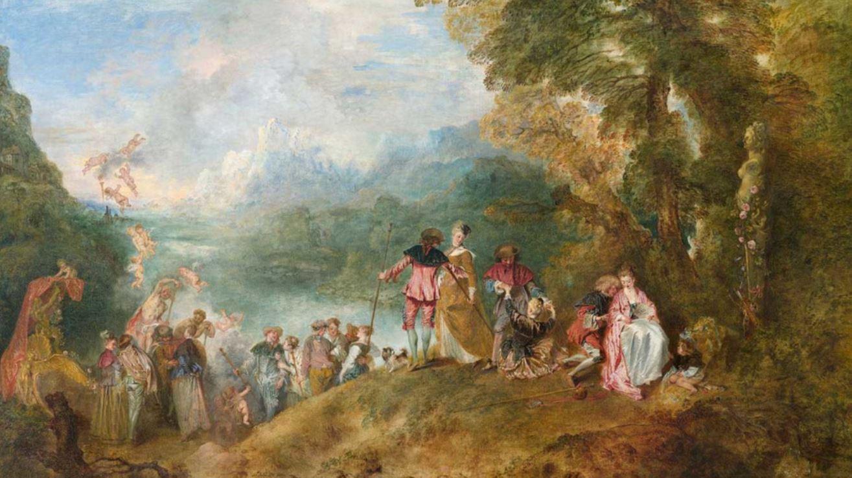 Tableau de Watteau