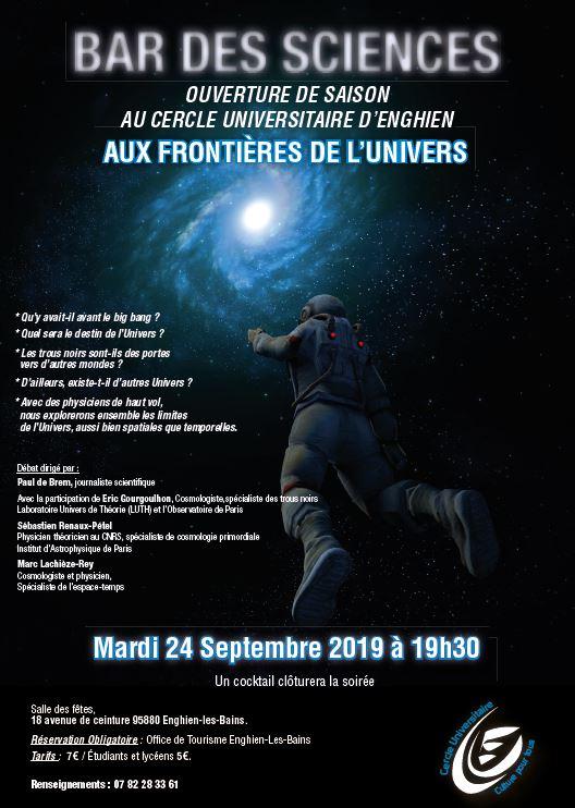 Bae des sciences à Enghien le 24 septembre 2019