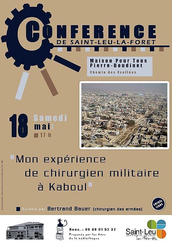 Conférence du 18 mai 2019 à Saint-Leu-la-Forêt