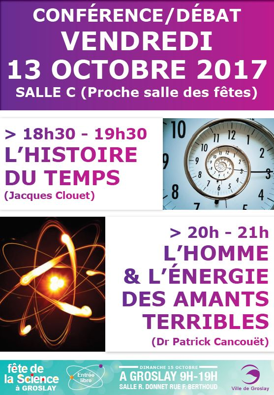 conférence - débat à Groslay le 13 octobre 2017