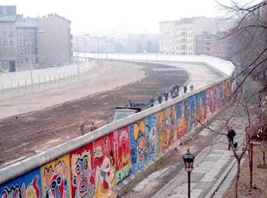 Mur de Berlin en 1986