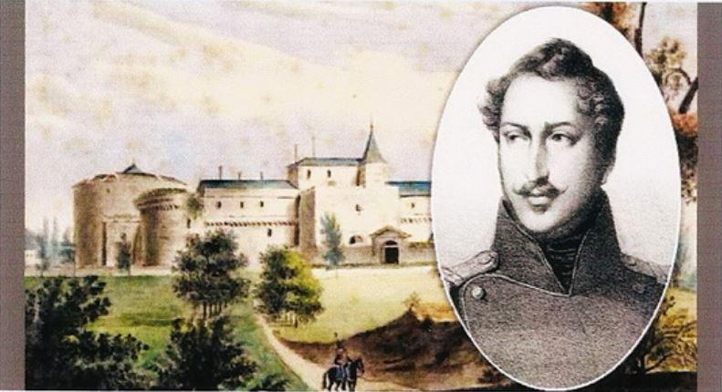 Napoléon au fort de Ham