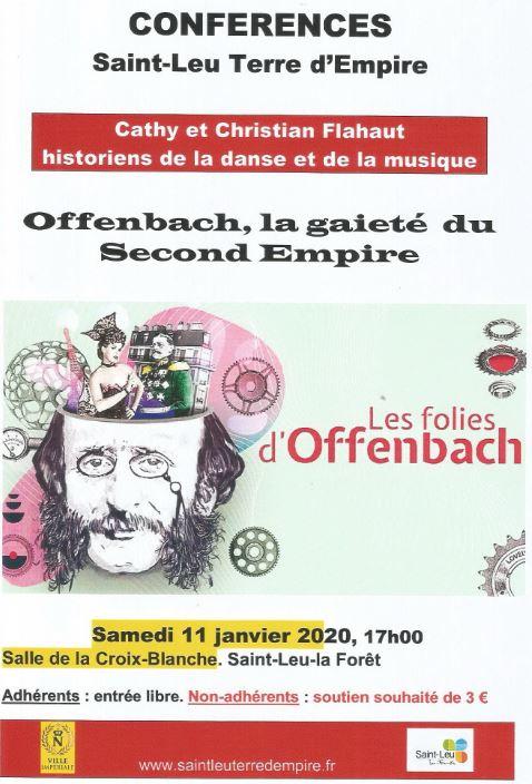 Conférence : Les Folies d'Offenbach